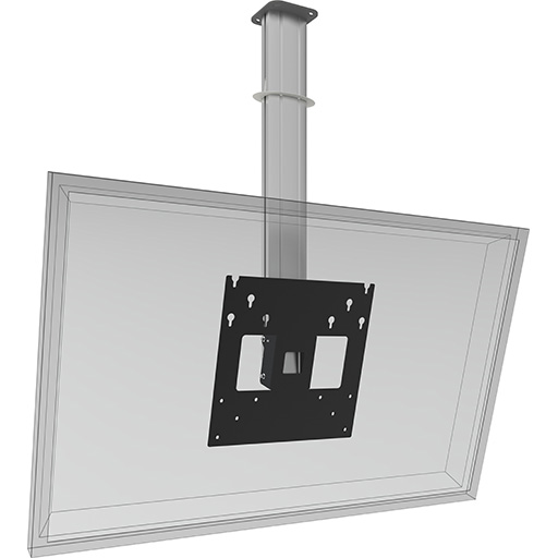 Plafondbeugel monitor tot 70 inch | Digibordshop.nl