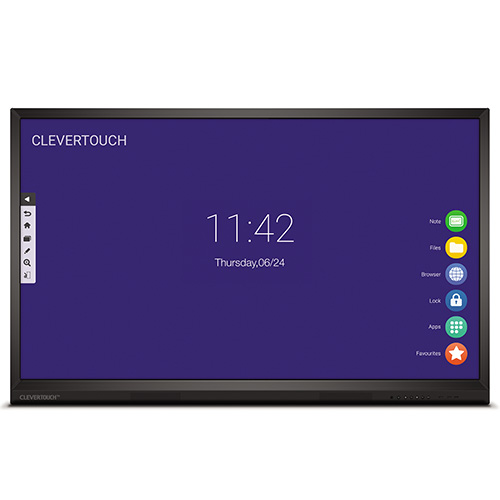 Clevertouch-V-Series-Front-View