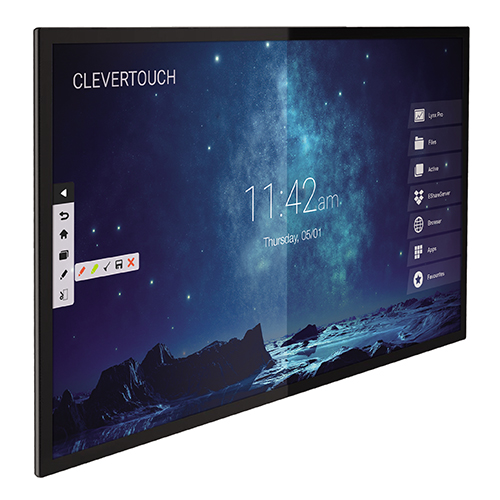Clevertouch Pro PCAP 65 inch touchscreen