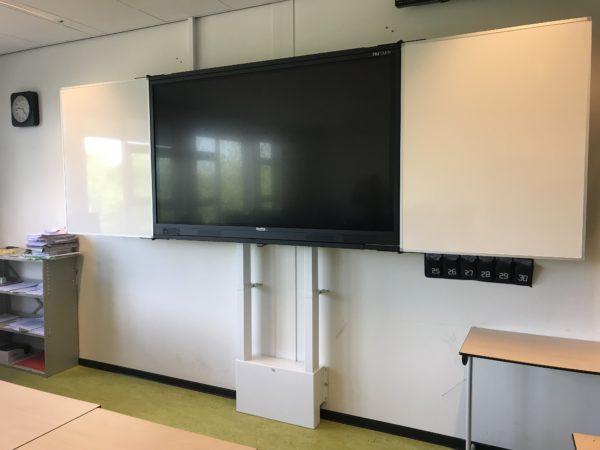 5-vlaks whiteboard