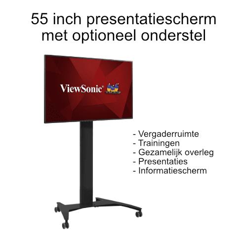 verrijdbaar presentatie scherm